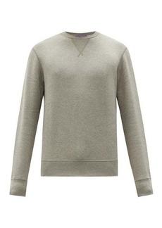Ralph Lauren Purple Label Madison cotton-blend jersey sweatshirt