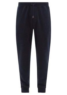 Ralph Lauren Purple Label Madison cotton-jersey track pants