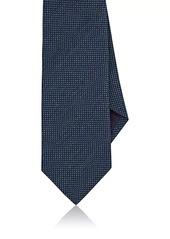 Ralph Lauren Purple Label Men's Basket-Weave Linen-Silk Necktie