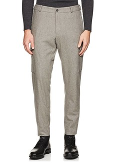 Ralph Lauren Purple Label Men's Cargo Wool Flannel Trousers