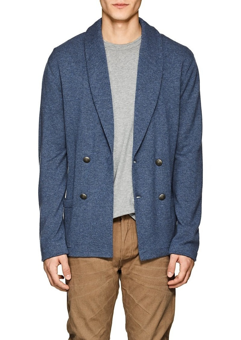 1a4f9afdafe Purple Label Men's Cashmere Double-Breasted Cardigan