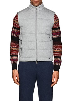 Ralph Lauren Purple Label Men's Slim Channel-Quilted Jersey Vest