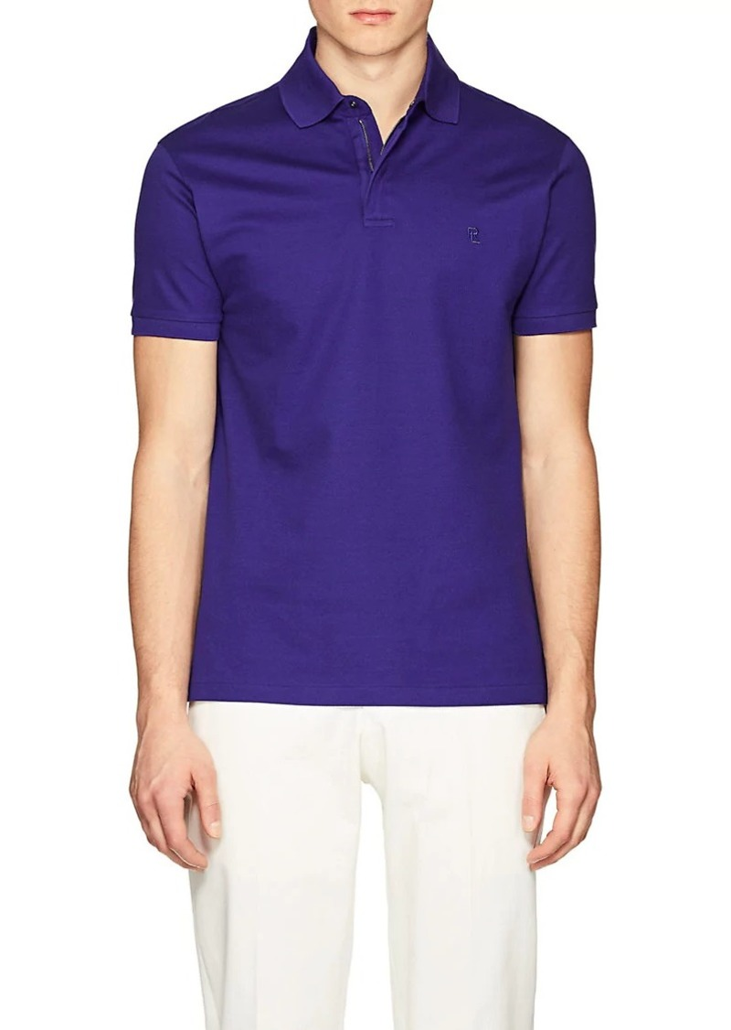 Ralph Lauren Purple Label Men's Slim Cotton Piqué Polo Shirt
