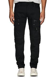 Ralph Lauren Purple Label Men's Defender Slim Moto Jeans