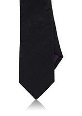 Ralph Lauren Purple Label Men's Herringbone Linen-Silk Necktie