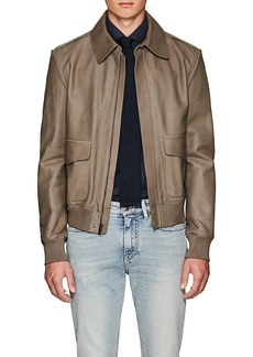 Ralph Lauren Purple Label Men's Leather Flight Jacket