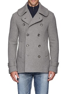 Ralph Lauren Purple Label Men's Merino Wool Double-Breasted Peacoat