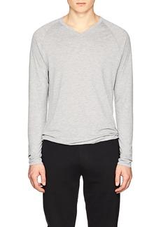 Ralph Lauren Purple Label Men's Mélange Jersey V-Neck T-Shirt