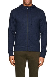 Ralph Lauren Purple Label Men's Slim Mélange Jersey Zip-Front Hoodie