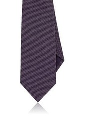 Ralph Lauren Purple Label Men's Neat-Zigzag-Pattern Silk Necktie