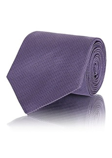 Ralph Lauren Purple Label Men's Pin-Dot Silk Jacquard Necktie