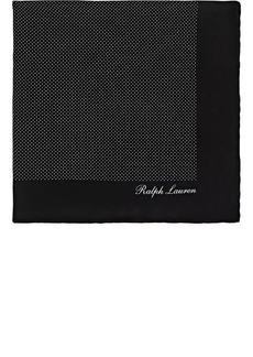 Ralph Lauren Purple Label Men's Pin-Dot Silk Pocket Square
