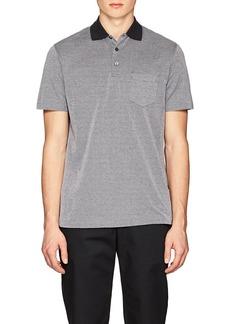 Ralph Lauren Purple Label Men's Slim Piqué Cotton Polo Shirt