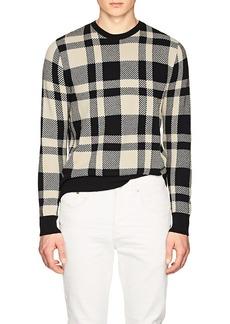 Ralph Lauren Purple Label Men's Plaid Cashmere-Wool Sweater