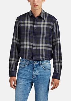 Ralph Lauren Purple Label Men's Plaid Cotton Shirt