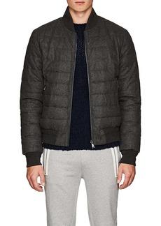 Ralph Lauren Purple Label Men's Reversible Down Bomber Jacket