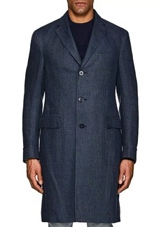 Ralph Lauren Purple Label Men's Ridley Linen Overcoat