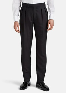 Ralph Lauren Purple Label Men's Shantung Silk Tuxedo Trousers