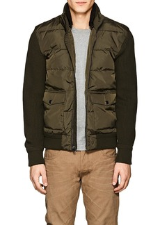 Ralph Lauren Purple Label Men's Shearling & Wool Puffer Jacket