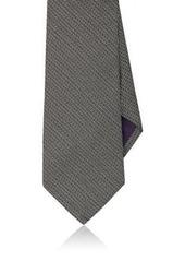 Ralph Lauren Purple Label Men's Silk Basket-Weave Necktie