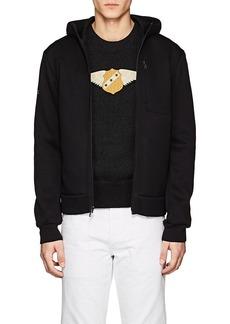 Ralph Lauren Purple Label Men's Spacer Neoprene Jersey Hooded Jacket