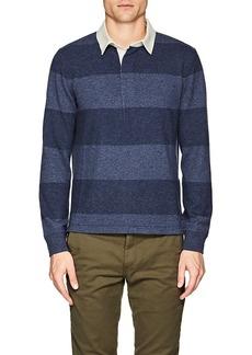 Ralph Lauren Purple Label Men's Striped Cashmere Polo Sweater
