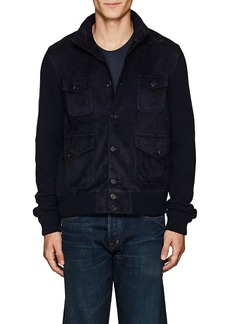 Ralph Lauren Purple Label Men's Suede & Cashmere Jacket
