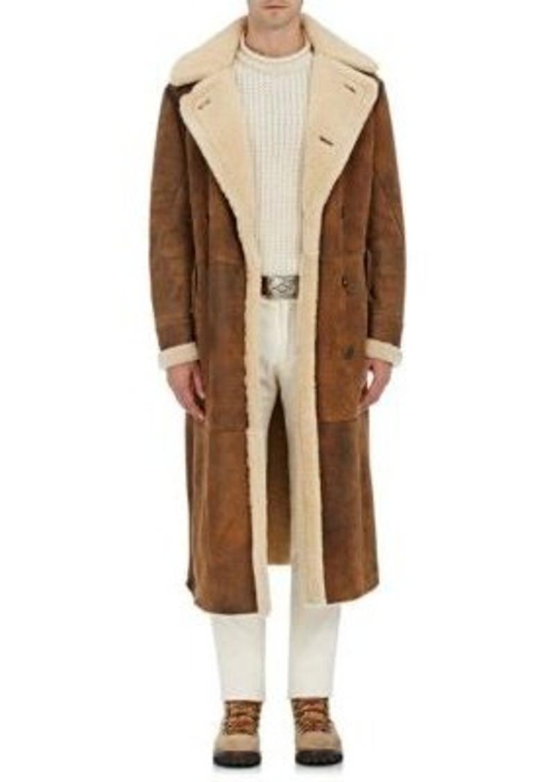 Purple Label Men's Suede & Shearling Coat. Ralph Lauren