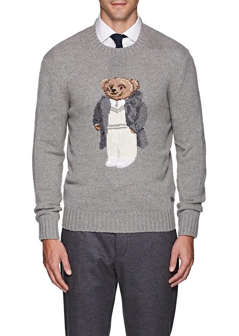 61667066fca1 Ralph Lauren Ralph Lauren Purple Label Men s Teddy Bear Cashmere ...
