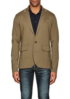 Ralph Lauren Purple Label Men's Wool Sportcoat-Style Cardigan