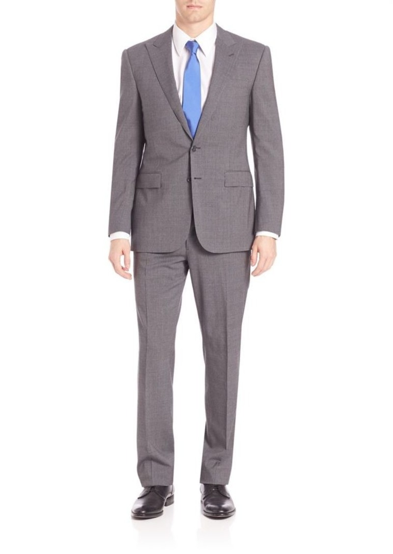 Ralph Lauren Purple Label Micro Houndstooth Suit