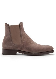 Ralph Lauren Purple Label Penfield suede chelsea boots