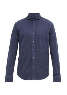Ralph Lauren Purple Label Pima-cotton piqué shirt