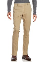 Ralph Lauren Purple Label Solid Flat-Front Pants