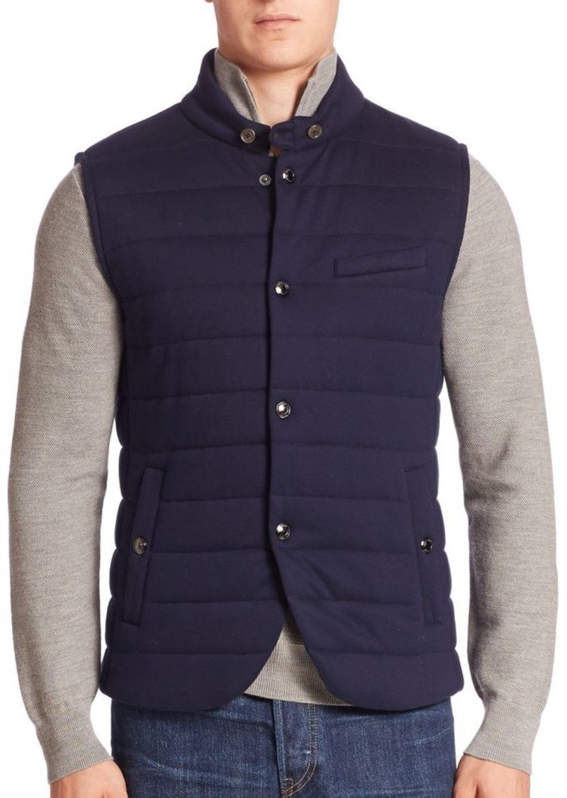 Ralph Lauren Ralph Lauren Purple Label Quilted Vest Outerwear
