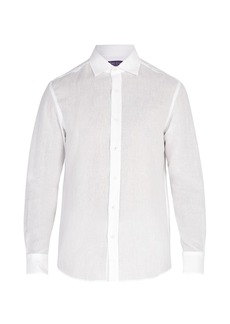 Ralph Lauren Purple Label Serengeti linen shirt