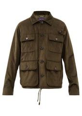 Ralph Lauren Purple Label Seymour cotton-corduroy jacket