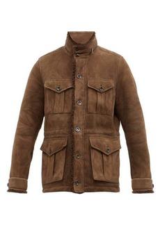 Ralph Lauren Purple Label Shearling field jacket
