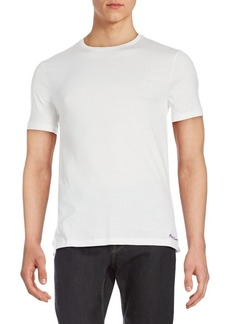 Ralph Lauren Short-Sleeve Crewneck Cotton Tee