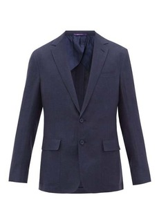 Ralph Lauren Purple Label Single-breasted silk-blend suit jacket