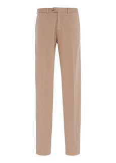 Ralph Lauren Purple Label Slim-Fit Garment-Washed Cotton Chinos