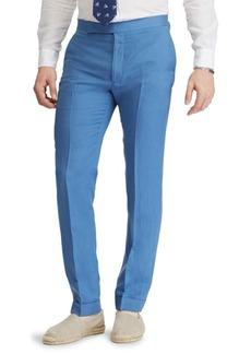 Ralph Lauren Anthony Silk Linen Slub Trousers