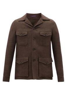 Ralph Lauren Purple Label Snowdon linen-blend field jacket