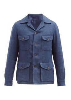 Ralph Lauren Purple Label Snowdon linen-chambray jacket