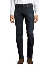 Ralph Lauren Purple Label Straight-Fit Whiskered Jeans
