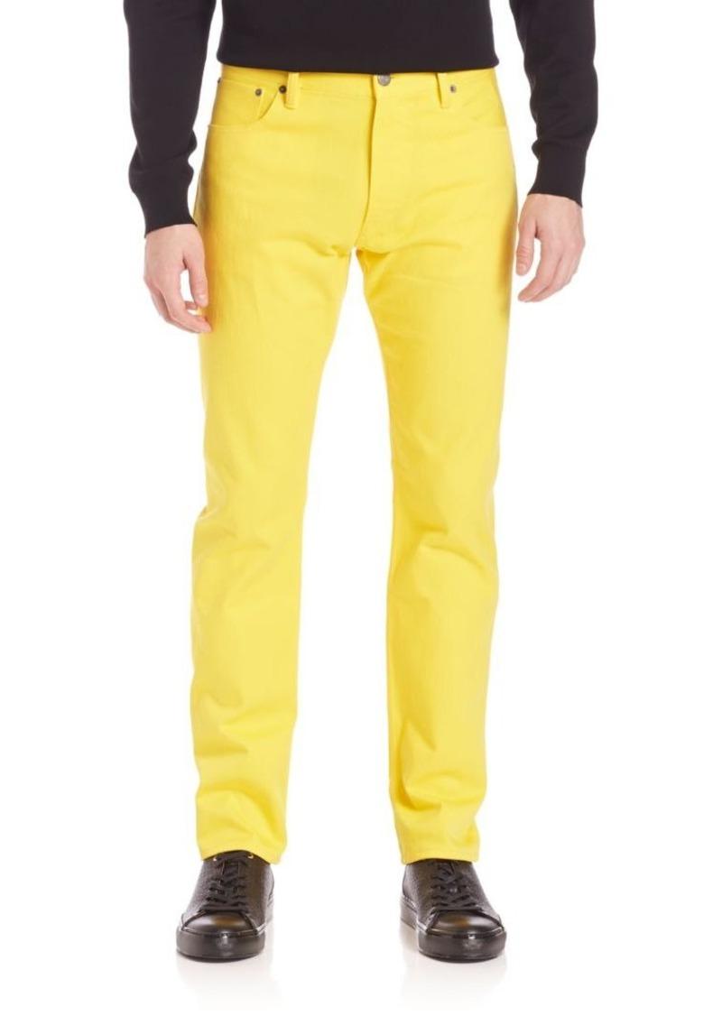 Ralph Lauren Purple Label Straight-Leg Jeans