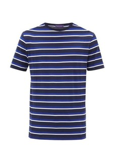 Ralph Lauren Purple Label Striped cotton-jersey T-shirt
