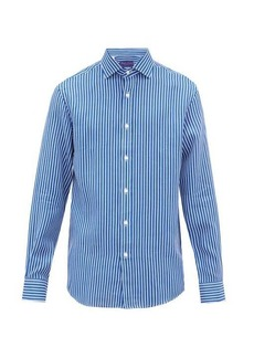 Ralph Lauren Purple Label Striped linen shirt