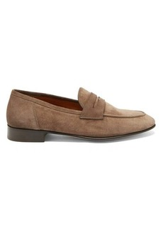 Ralph Lauren Purple Label Suede penny loafers