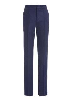 Ralph Lauren Purple Label Tennis Wool-Cashmere Pants
